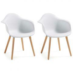Stuhl Kevya - weiß
