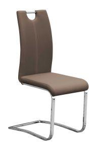 Set mit 2 Stühlen Sofia - braun