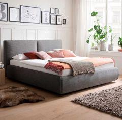 Gestoffeerd bed Atesio - 180x200 cm - antraciet