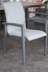 Capri allweather stacking chair