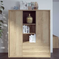 Highboard Frame - helle Eiche