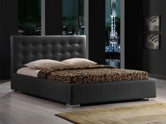 Bett Eros 160x200 - schwarz