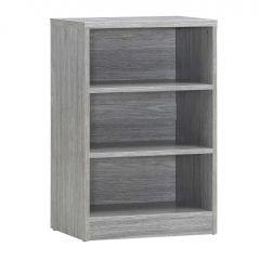 Bücherregal Spacio 55cm mit 2 Einlegeböden - Eiche grau