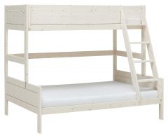Etagenbett Family 90/120 - White Wash