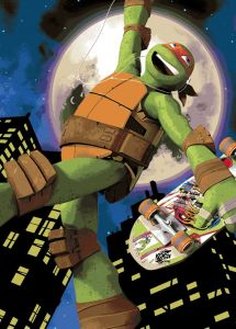Teppich Turtles - Michelangelo Skate