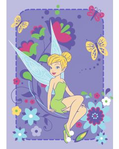 Teppich Disney Fairies - Tink Flowers