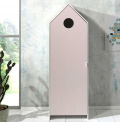 CASAMI WARDROBE 1 DOOR PINK *