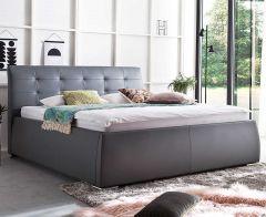 Gestoffeerd bed Neo - 180x200 cm - Grafiet