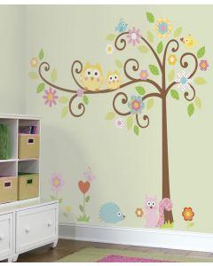 RoomMates Wandsticker - gelockter Baum