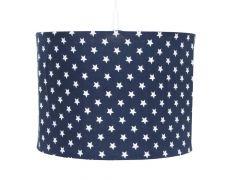 Hängelampe Little star - marineblau