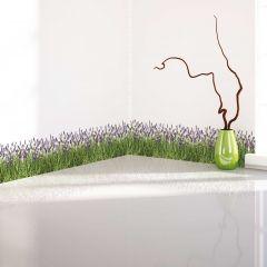 Wandaufkleber Lavendel - dekorative Bordüre