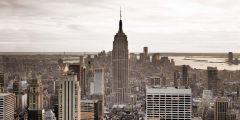 Leinwand New York 50x100cm