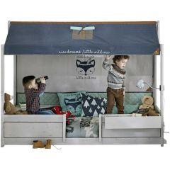 4-in-1-Bett mit Dach Forest Ranger