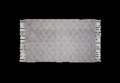Teppich - Baumwolle - 90x60 cm - grau
