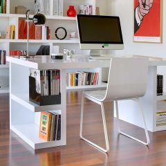 Multis Schreibtisch - weiß