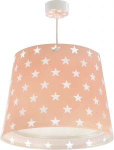 Hängeleuchte Stars - rosa