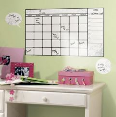 RoomMates Wandsticker - Abwischbarer Kalender Stundenplan
