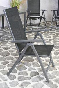 Palermo Standenstoel, black 4x4