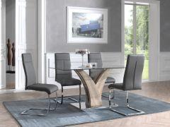 Tisch Ela 160x80 - Eiche alt
