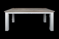 Esstisch Provence - 220x100 cm - Graueiche  /  Weiß