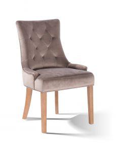 2er-Set Esszimmerstühle Bristol - beige/natur