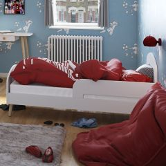 Toddler bed GAIA - Toddler Bed 70 x 140 cm - EXTRA WHITE