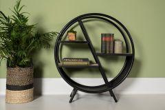 Dekorationsgestell - Eisen / Mango-Holz - natur