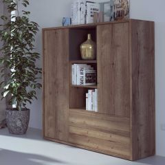 Highboard Frame - dunkle Eiche