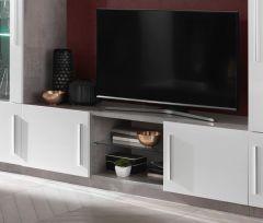 Greta Beton/weiss TV möbel 156cm