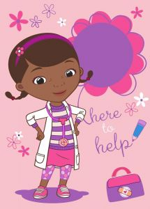 Teppich Doc Mc Stuffins - Here to help