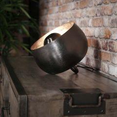 Tischleuchte Ø28 Korb - Schwarz Nickel