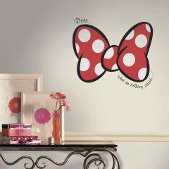 RoomMates Wandtattoo - Minnie Maus Dots