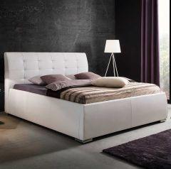 Neo gestoffeerd bed - 180x200 cm - Wit