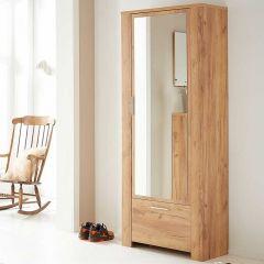 Kleiderschrank Castor 74cm mit 2 Türen - Eiche