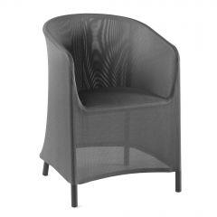 Nancy dining chair textylene silver grey