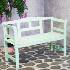 Friesenbench 122cm Light Green  FSC 100%