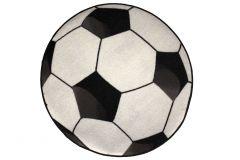 Teppich Football Ø80cm