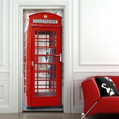 Türaufkleber Telefonzelle