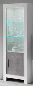 Modena Weiss/beton vitrine 1t