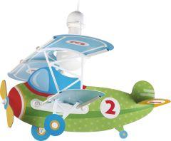 Hängelampe Flugzeug Baby Flugzeug Grün