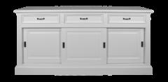Sideboard Provence - 180 cm - weiß
