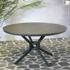 Jersey Table round Anthracite Ø140 cm