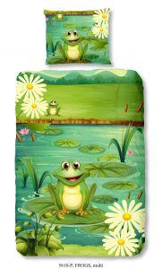 Bettwäsche Frogs Multi 140x220