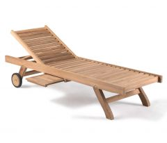 Oxford Sunlounger 2 parts with tray