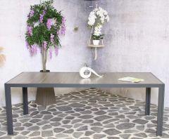 Bergamo ceramic table deluxe 220cm