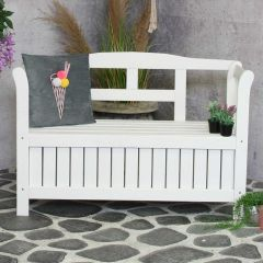Pinokkio bench white, FSC 100%