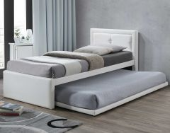 Einzelbett Rodan - weiß