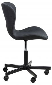 Batilda - A1 desk chair - matt black, anthracite
