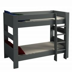 Bunkbed STEENS FOR KIDS 615 - 90x200 bunk bed incl. slats - GREY
