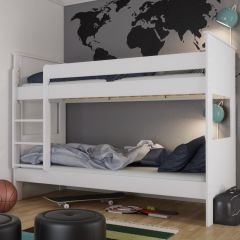 Bunkdbed ALBA 615 - Bunk Bed 90x200 cm - EXTRA WHITE